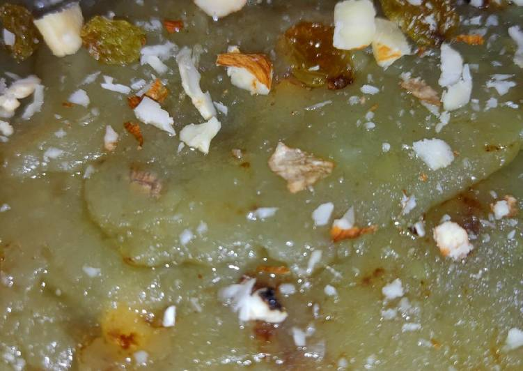 Recipe of Homemade Sweet Potato Halwa