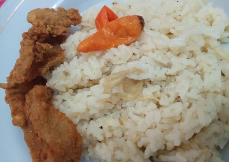 Nasi Rempah Ricecooker