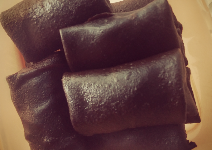 Begini Cara Membuat Dadar gulung coklat, Bikin Ngiler