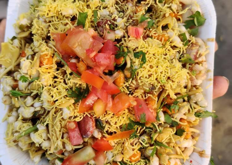 10 Minute How to Make Vegan Masala Bhel Puri