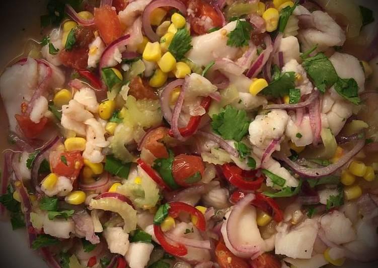 Recipe: Flavorsome Ceviche