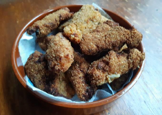 Croquetas de jambon aux champignons