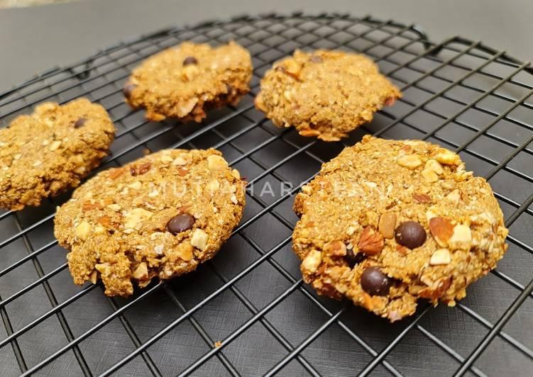 Cookies oatmeal tanpa tepung