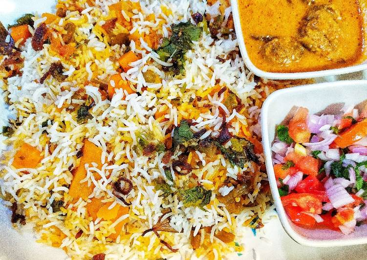 Simple Way to Make Award-winning Vegetable Dum Biryani Restaurant style