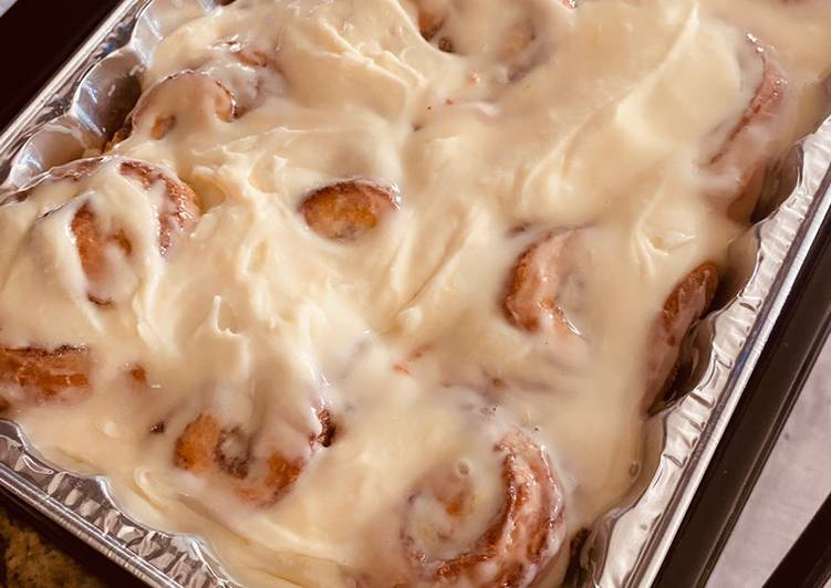 Citrusy Cinnamon Rolls