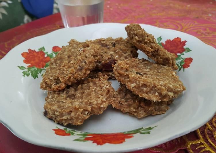 Cookies oat camilan sehat