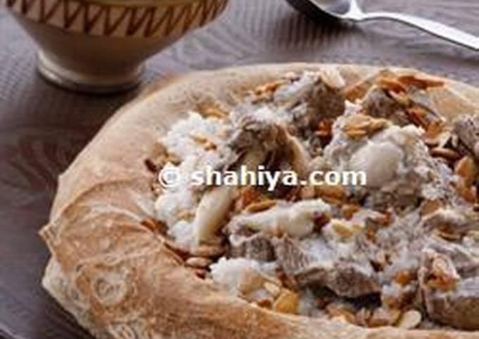 Nadia's Meat Mansaf