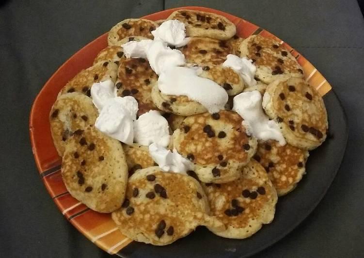 Vegan Chocolate Pina Colada Pancakes