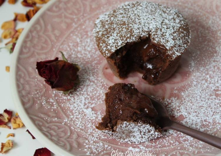 recette Fondants au chocolat délicieux