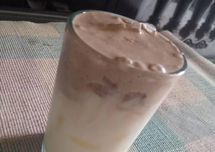 Dalgona Milo (minuman yg lg ngehitzz...segerr)