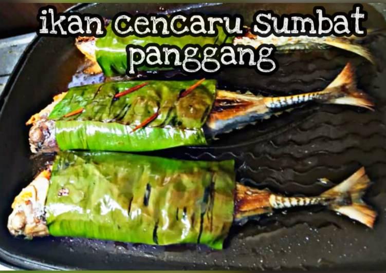 Ikan bakar sumbat kelapa