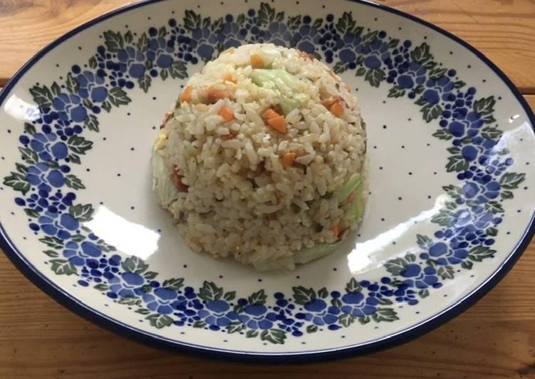Fried Rice withLeftover vegetables