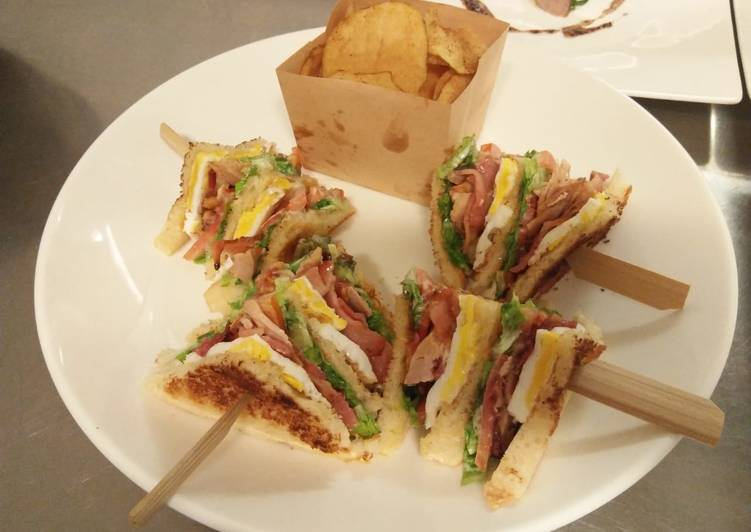 Recipe: Tasty Marthin club sandwich
