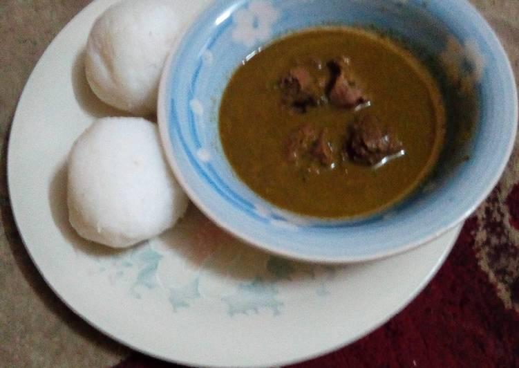 Recipe of Super Quick Homemade Tuwon shinkafa miyar kuka