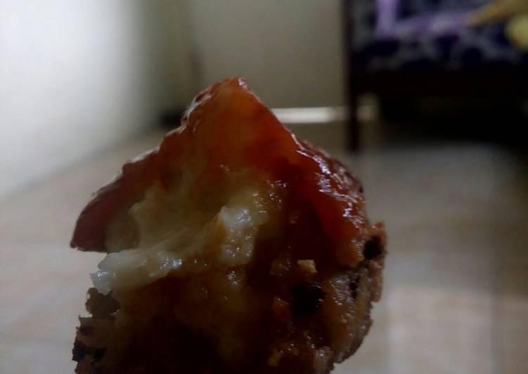 Bakso sosis goreng