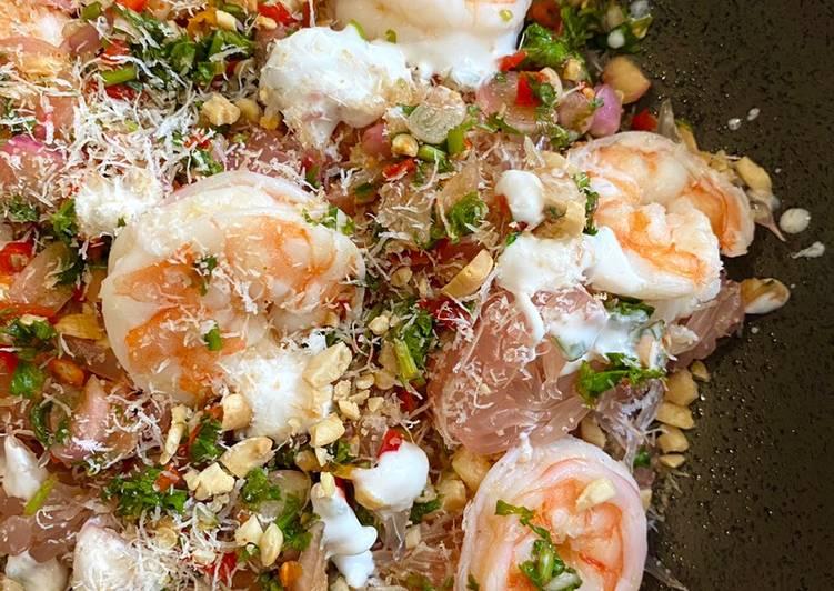 Pomelo & Prawn Salad Thailand (Yam Som O)