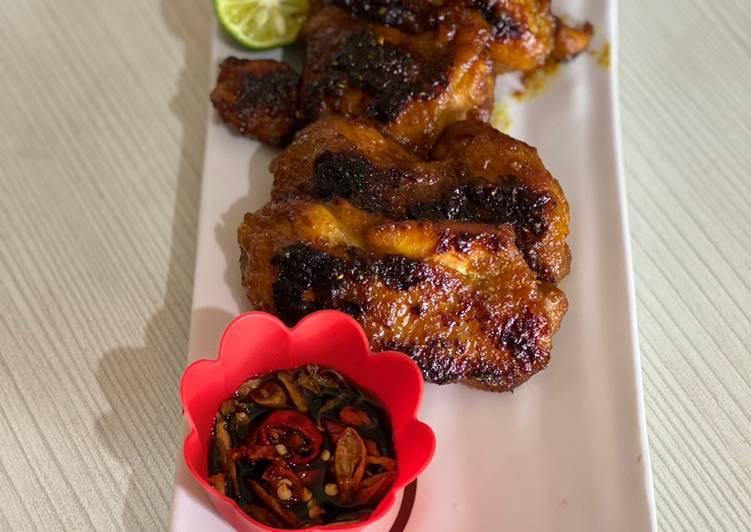 Cara Membuat Ayam Bakar madu simpel