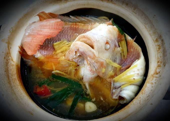 Tutorial Of Clay Pot Fish Very Simple