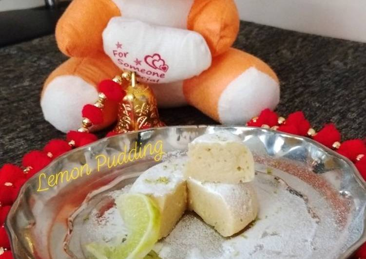 Recipe of Perfect Lemon Pudding