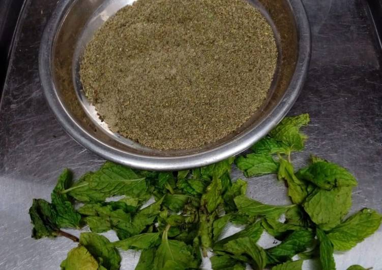 Simple Way to Prepare Perfect Chachh masala powder