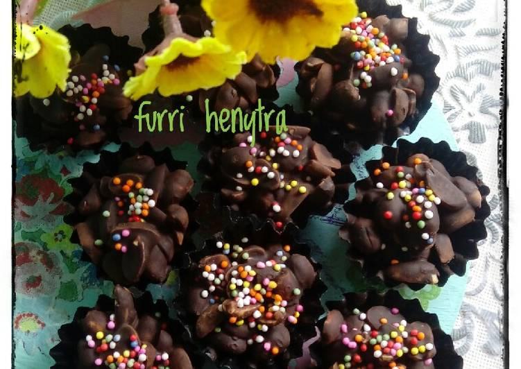 Coklat Kacang Cup Mix Springkle #BikinRamadanBerkesan