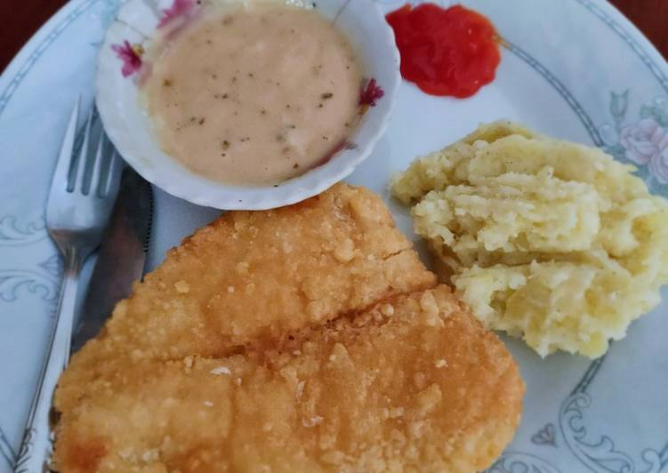 Fish n chip ala rumahan