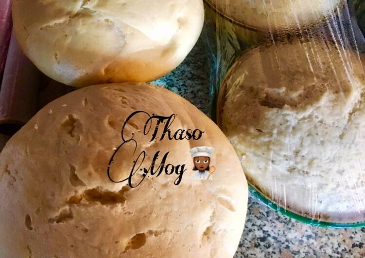 Easiest Way to Prepare Homemade Steamed bread/Idombolo