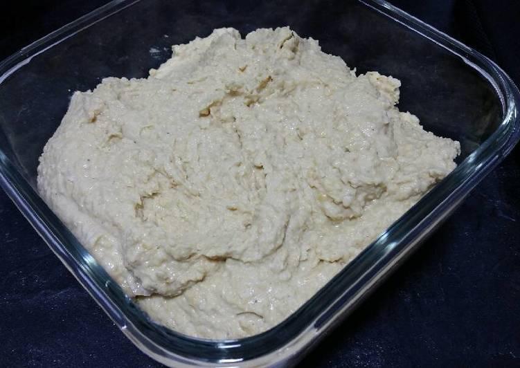 Hummus a mi manera