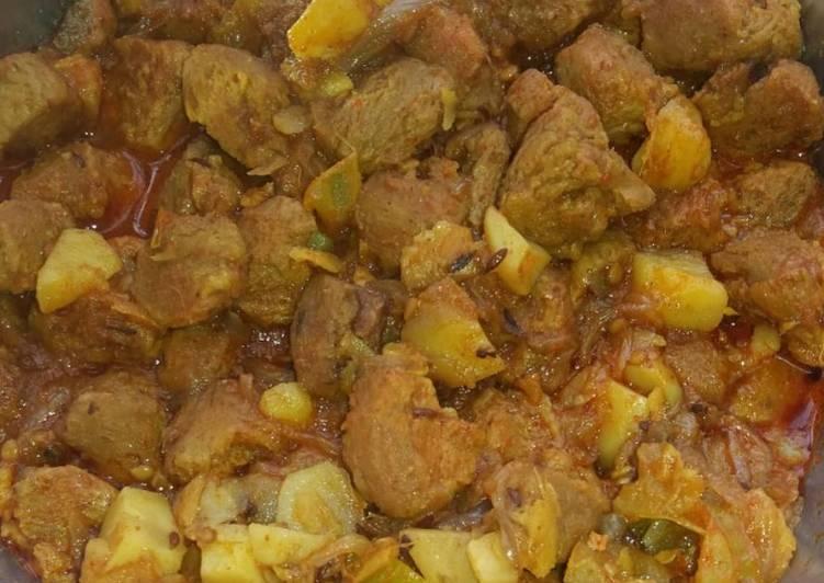 Fresh Soya bean curry