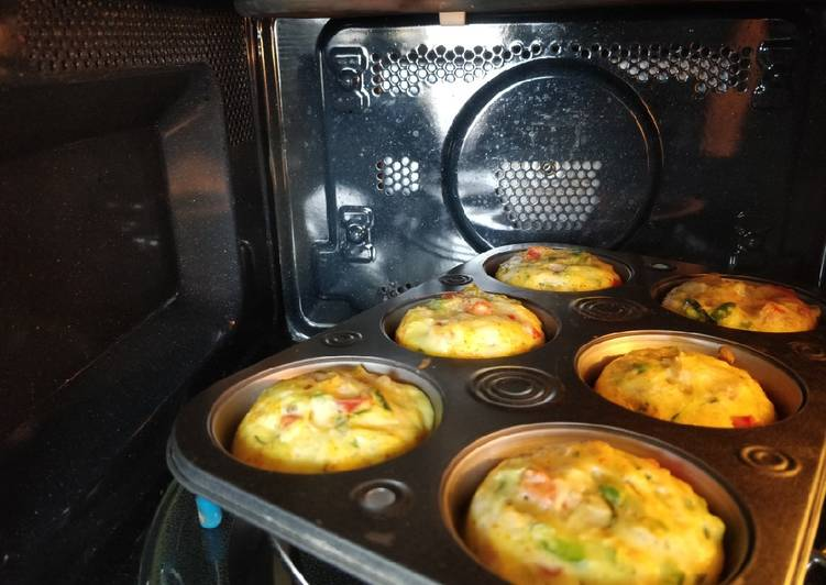 Easiest Way to Prepare Super Quick Homemade Nutritious Egg muffins