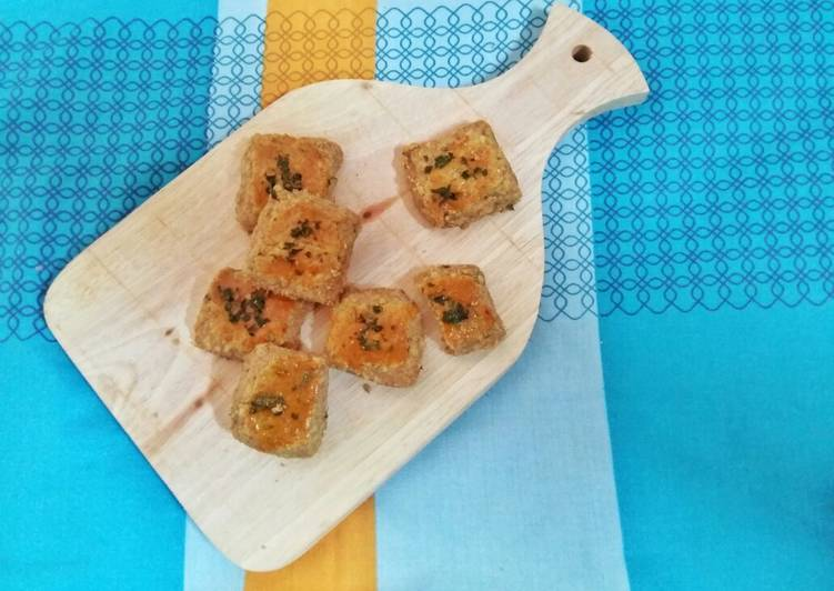 Garlic cheese cookies (gluten free)