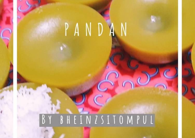 Kue Lumpang Pandan favorit Mertua
