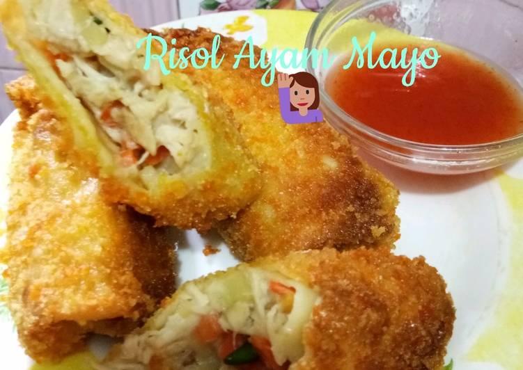 risol ayam mayo foto resep utama Resep Indonesia CaraBiasa.com