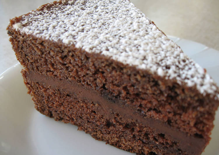 Super Easy Chocolate Cake