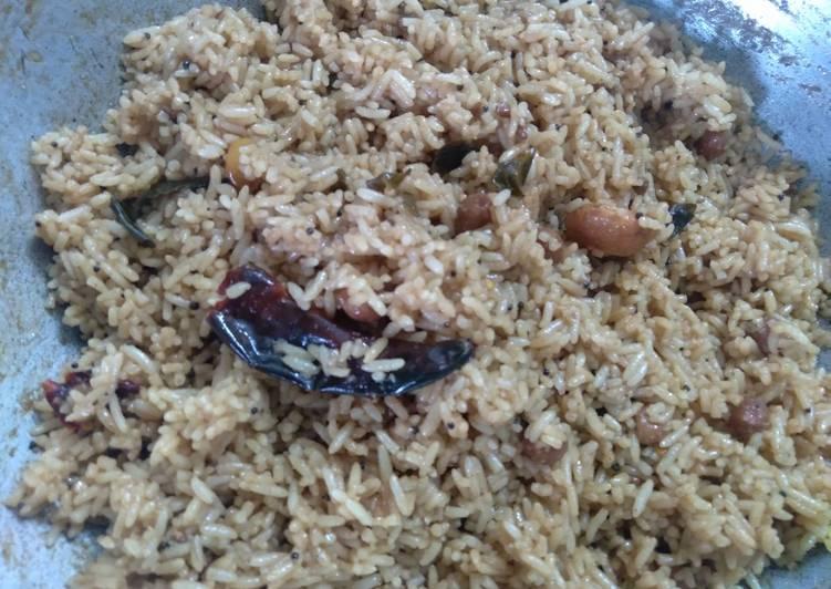 Steps to Prepare Favorite Tamarind rice puli sadam