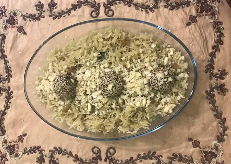 Gur kay chaawal (Gur Rice)