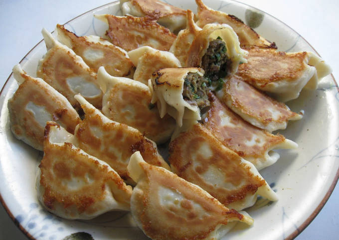 Beef & Garlic Chives Curry Gyoza