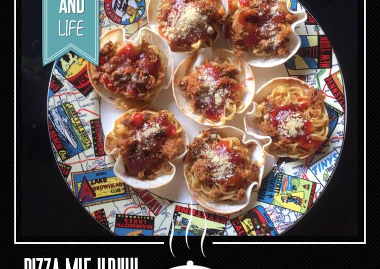 12 Resep: Pizza mie kriuk Kekinian