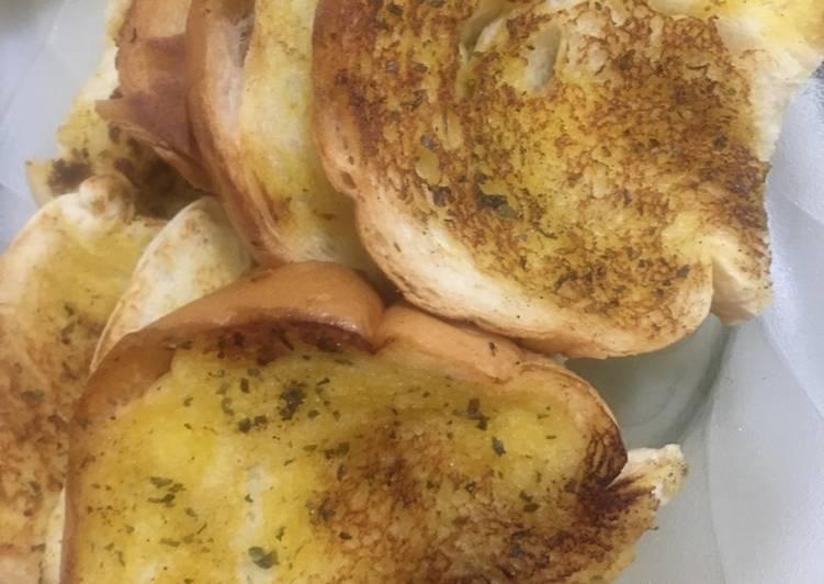 Resep Garlic Bread Ala Ala Bikin Ngiler