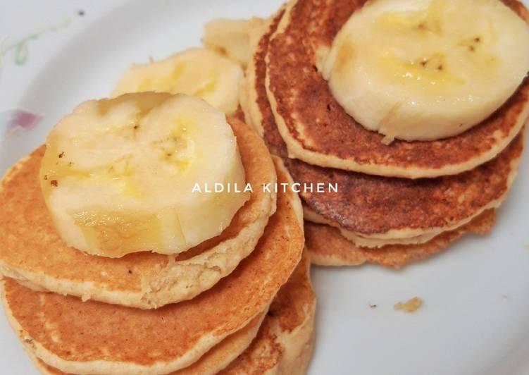 Pancake Oatmeal Pisang