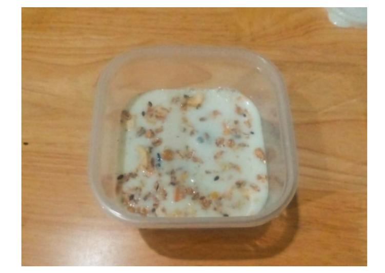 Resep Overnight oat: Sarapan sehat 250-300 kalori Favorit