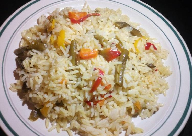How to Make Speedy Rice with vegetables