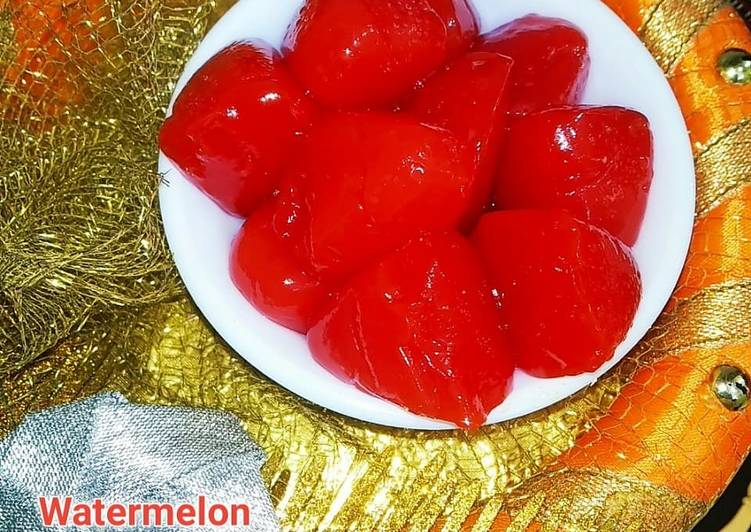 Simple Way to Make Ultimate Watermelon Jelly
