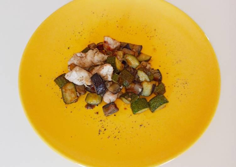 Ricetta Spezzatino di Pollo alle verdure
