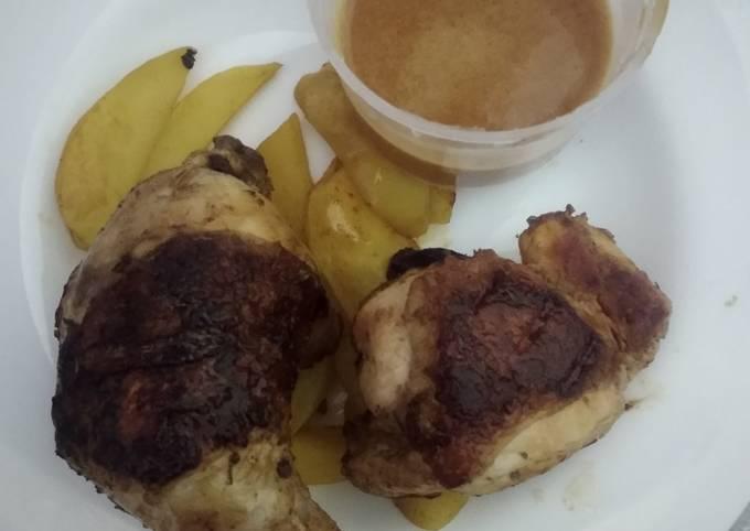 Chicken choma