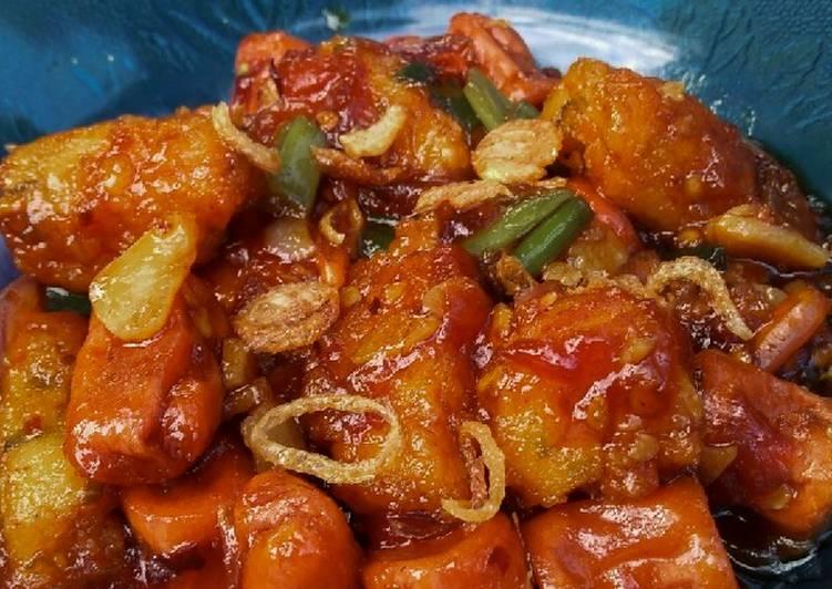 11 Bahan Masak Nugget Sosis Asam Manis Pedas Yang Mudah Cookandrecipe Com