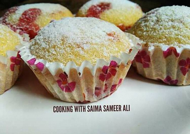 Easiest Way to Prepare Appetizing Simple vanila cup cakes