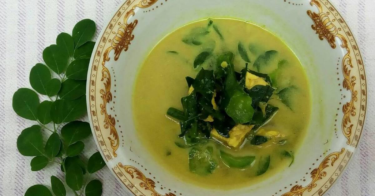 Resep Sayur Daun Kelor Masak Santan Oleh Triastanti Cookpad