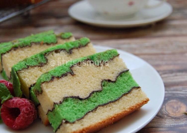 Topo Map Love Cake (butter Cake)