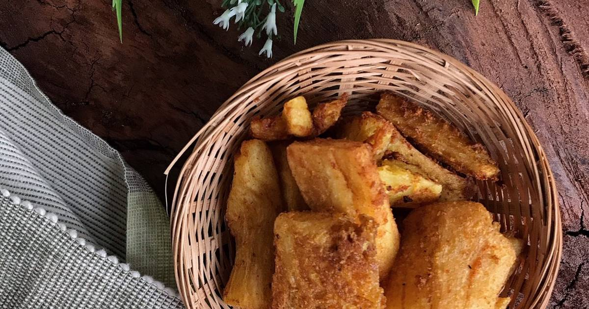 resepi ubi kayu  sedap  mudah cookpad Resepi Bingka Ubi Gula Merah Sedap Enak dan Mudah
